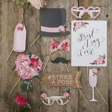 Wedding  Boho  photo props Σετ των 10